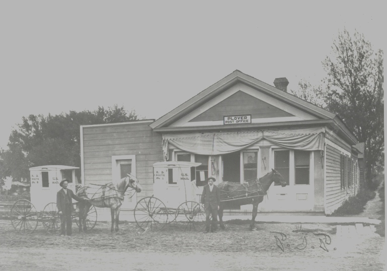 Plover Post Office - Circa 1900